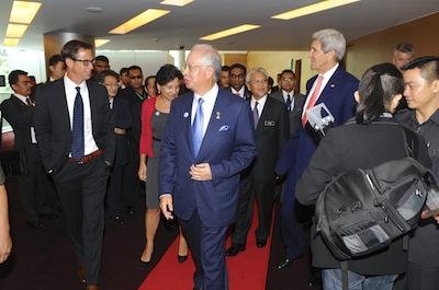 Rich Barton, Sec Pritzker, Malaysian President, and Sec Kerry
