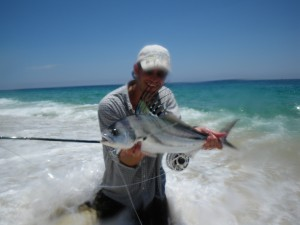 Rich and his birthday Roosterfish